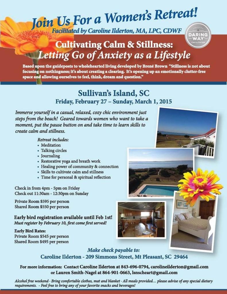 Cultivating Calm & Stillness